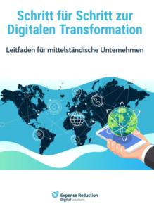 Buchcover: Schritt für Schritt zur Digitalen Transformation - Leitfaden für mittelständische Unternehmen