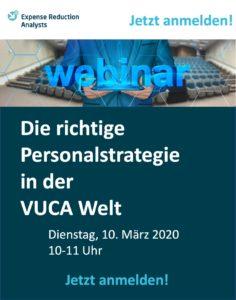 Webinar Personalstrategie VUCA-Welt