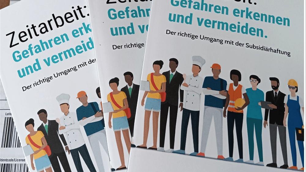 Buch Zeitarbeit Subsidiärhaftung